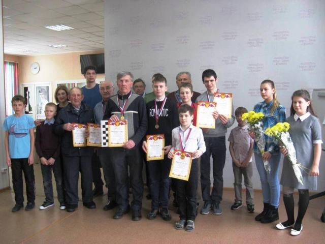 призеры и участники соревнований